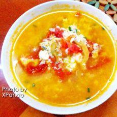 番茄蛋汤的做法