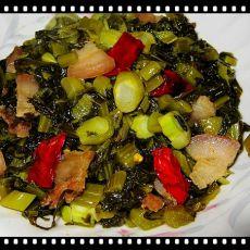 干椒炒酸菜的做法