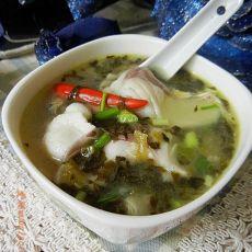 酸菜青鱼片汤