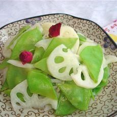 扁豆拌莲藕
