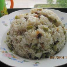 酸豆角炒饭