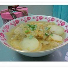 酸菜土豆汤的做法