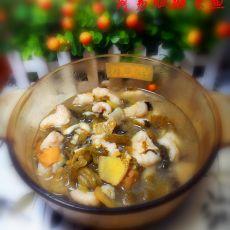 简易版酸菜鱼的做法