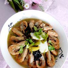 年糕酸菜北极虾