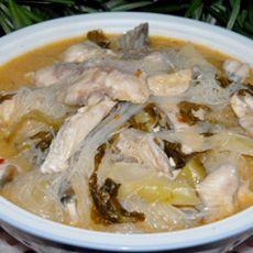 酸菜粉丝鱼
