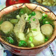 肉丸猪肉煲咸菜