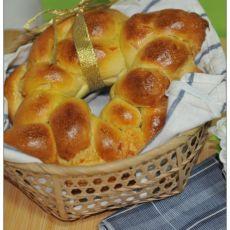 辫子酸奶面包