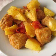 茄汁菠萝酿油果