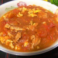 番茄肉丝炒蛋