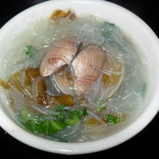青菜花蛤粉丝