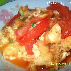蕃茄烧蛋的做法