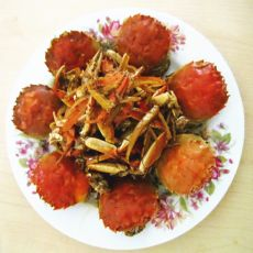 姜醋吮指蟹