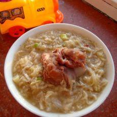 酸菜骨头粉条汤
