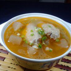 酸萝卜煲鸡翅