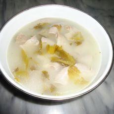 酸菜猪粉肠汤