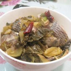 酸菜福寿鱼的做法