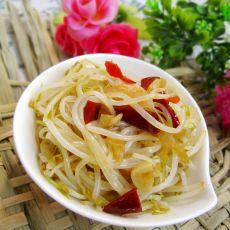 姜丝炝炒绿豆芽