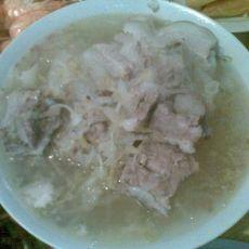 酸菜炖排骨白肉