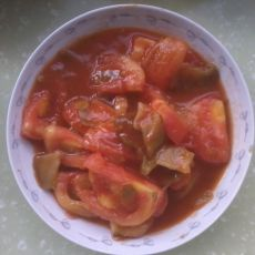 榨菜西红柿的做法