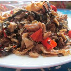红辣椒炒外婆菜的做法
