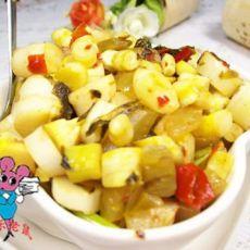 酸菜笋的做法