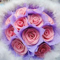 巧克力玫瑰花束