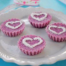 浪漫紫薯松糕的做法