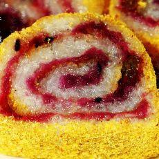 纯手工甜品紫薯馅凉糕的做法