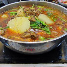羊排萝卜火锅的做法