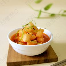 韩式腌萝卜的做法