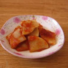 韩式辣萝卜片