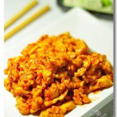韩国辣酱炒鸡蛋