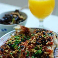 豆豉辣椒蒸鱼的做法