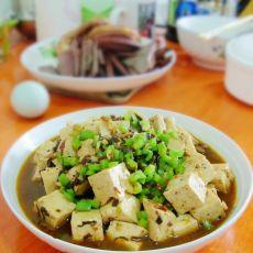 肉末冬菜炖豆腐的做法