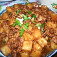 红烧米豆腐的做法