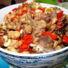 指天椒炒鸡丁的做法