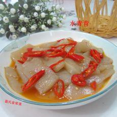 油辣魔芋豆腐