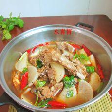 羊肉萝卜干锅