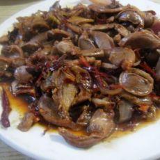 辣炒鸡胗的做法