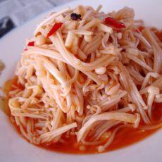 辣汁金针菇