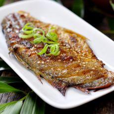 秘制烤黄鱼