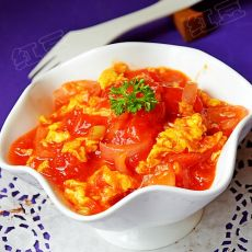 洋葱西红柿炒鸡蛋的做法