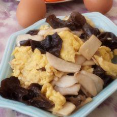 木须杏鲍菇的做法