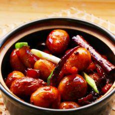 红烧肉皮炖小土豆的做法