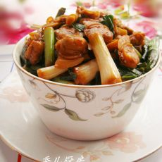 爆炒文蛤肉大蒜