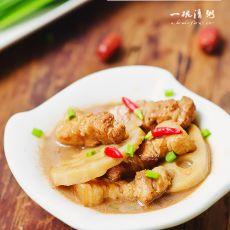 腐乳藕片五花肉