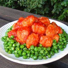 茄汁虾丸的做法