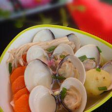 三蔬蛤蜊汤