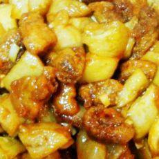 茄汁烧茄子肉段的做法