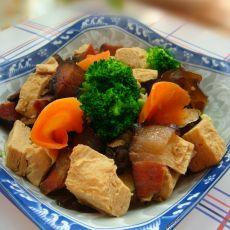 腊肉炒杂蔬